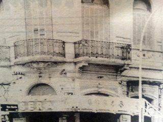 Antigua sede de la Escuela Superior de Servicio Social, en la calle San Martín Nº4.
