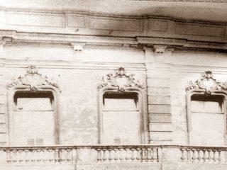 Ex sede de la Escuela Superior de Servicio Social, en la calle Pellegrini Nº35 altos.