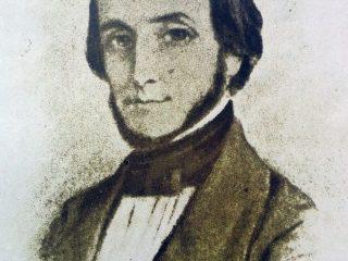 Dr. Juan Bautista Alberdi (1810-1884), artífice e inspirador jurídico de la Constitución Nacional, sancionada el 1 de mayo de 1853.