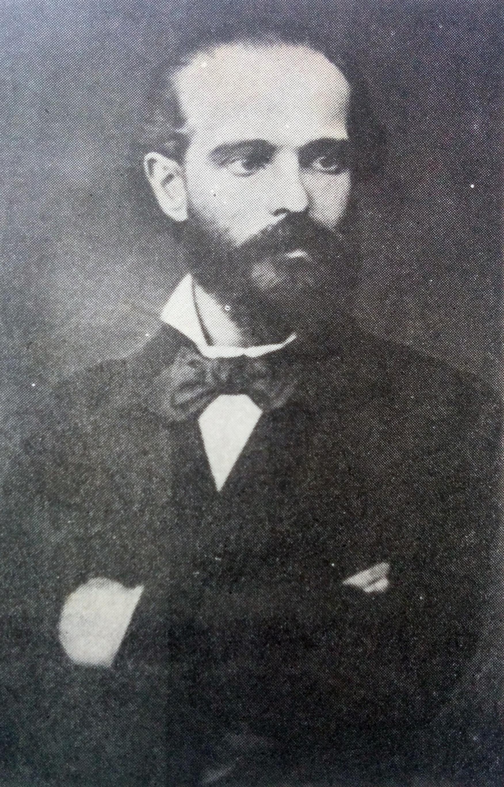 Manuel López Lorenzo, (1842- 1883), fundador de la Escuela Politécnica, en 1876.