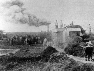 El trabajo rural a principios del siglo XX.