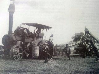 Las faenas rurales, a comienzo del siglo XX.