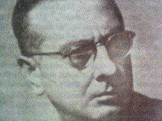 El Prof. Pascual Antonio Grisolía (1904-1983), creador y director de la Orquesta de Cámara de Chivilcoy, conformada en 1961, que debutó el 29 de abril de 1962.