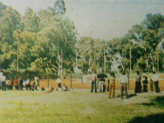 Cancha de tenis del Club La Pampa.
