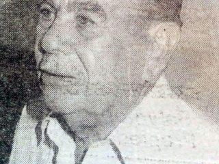 Prof. Julio Caggiano, primer director de la Escuela Media Nº2.