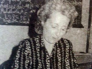Prof. Alejandrina Colareda, ex directora de la Escuela Media Nº2.