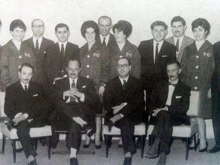 Miembros del Directorio y personal del Banco de Chivilcoy.