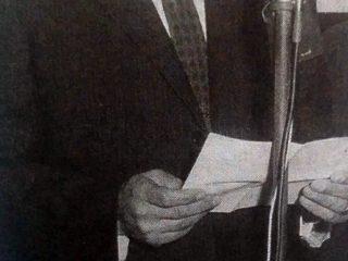 Dr. Julio Boris Goldenberg, fundador y primer presidente del Banco de Chivilcoy.