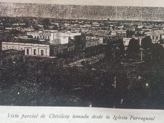 Radio urbano de Chivilcoy, hacia el año 1906.