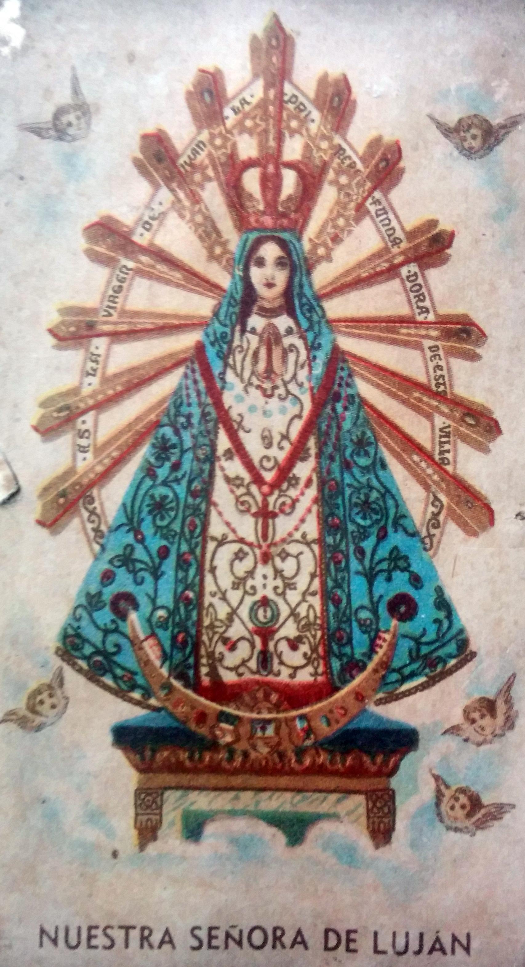 Imagen de la Virgen, Nuestra Señora de Luján.