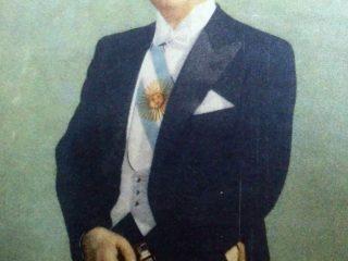 General Juan Domingo Perón (1895-1974), ex presidente de la Nación desde 1946, hasta 1955, y entre 1973 y 1974.
