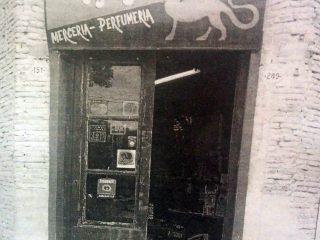 El frente de la antigua y tradicional tienda «San Jorge», un verdadero bastión, en la historia de Chivilcoy.