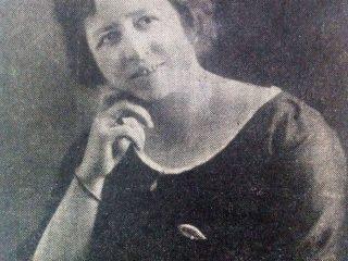 Doña Fidela Badano de Martelletti, ex presidenta del Patronato.