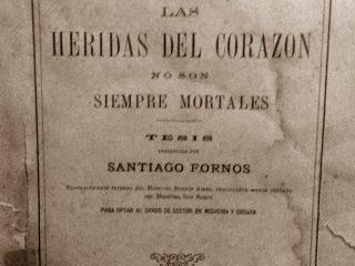 Célebre tesis doctoral de Santiago Forno, editada  en 1886.