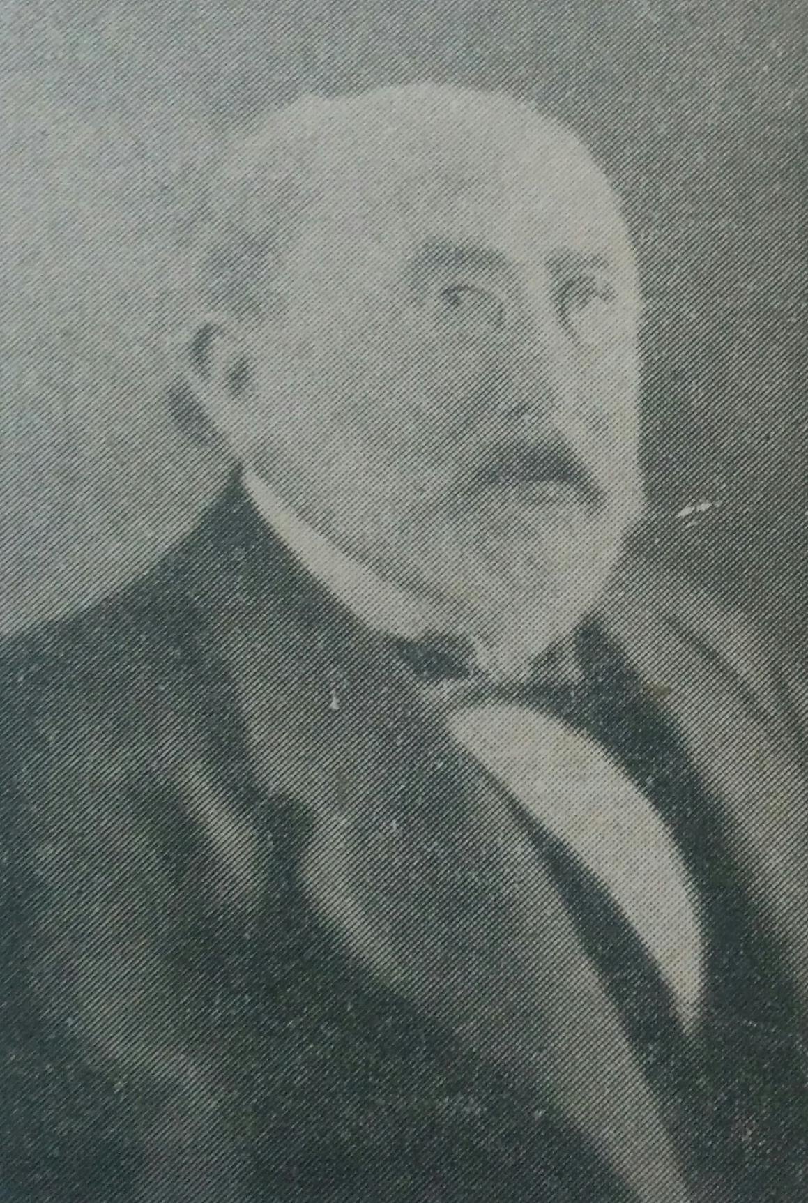 El poeta Pedro Bonifacio Palacios, Almafuerte (1854-1917).