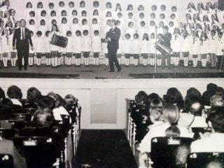 Presentación musical del Coro del Instituto Herminia Brumana.