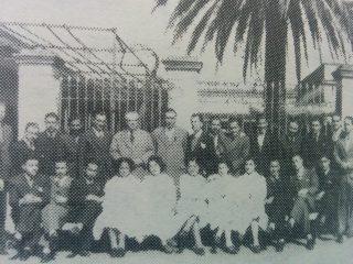 Promoción de Bachilleres, de 1938, la última del viejo Colegio Nacional.