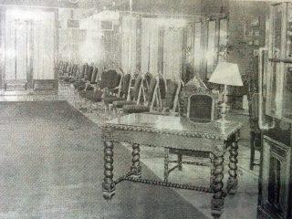 Interior del Club Social de Chivilcoy.