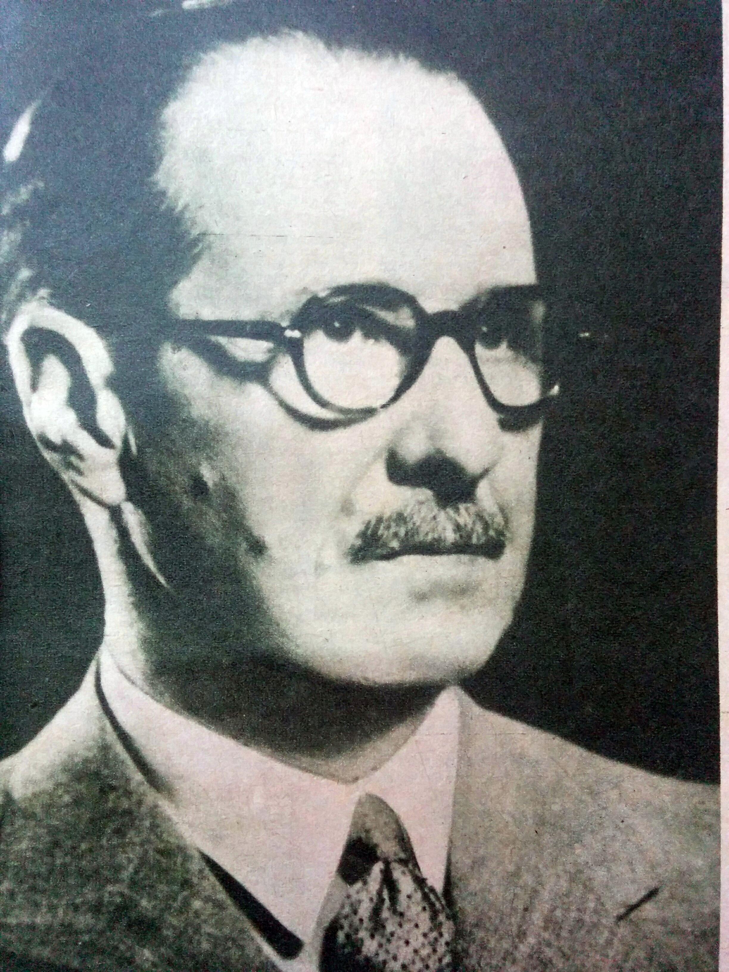 Retrato de Constancio C Vigil (1876-1954).