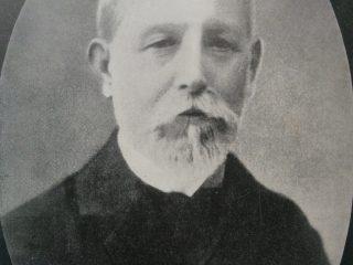Retrato de Florentino Ameghino (1854-1911).