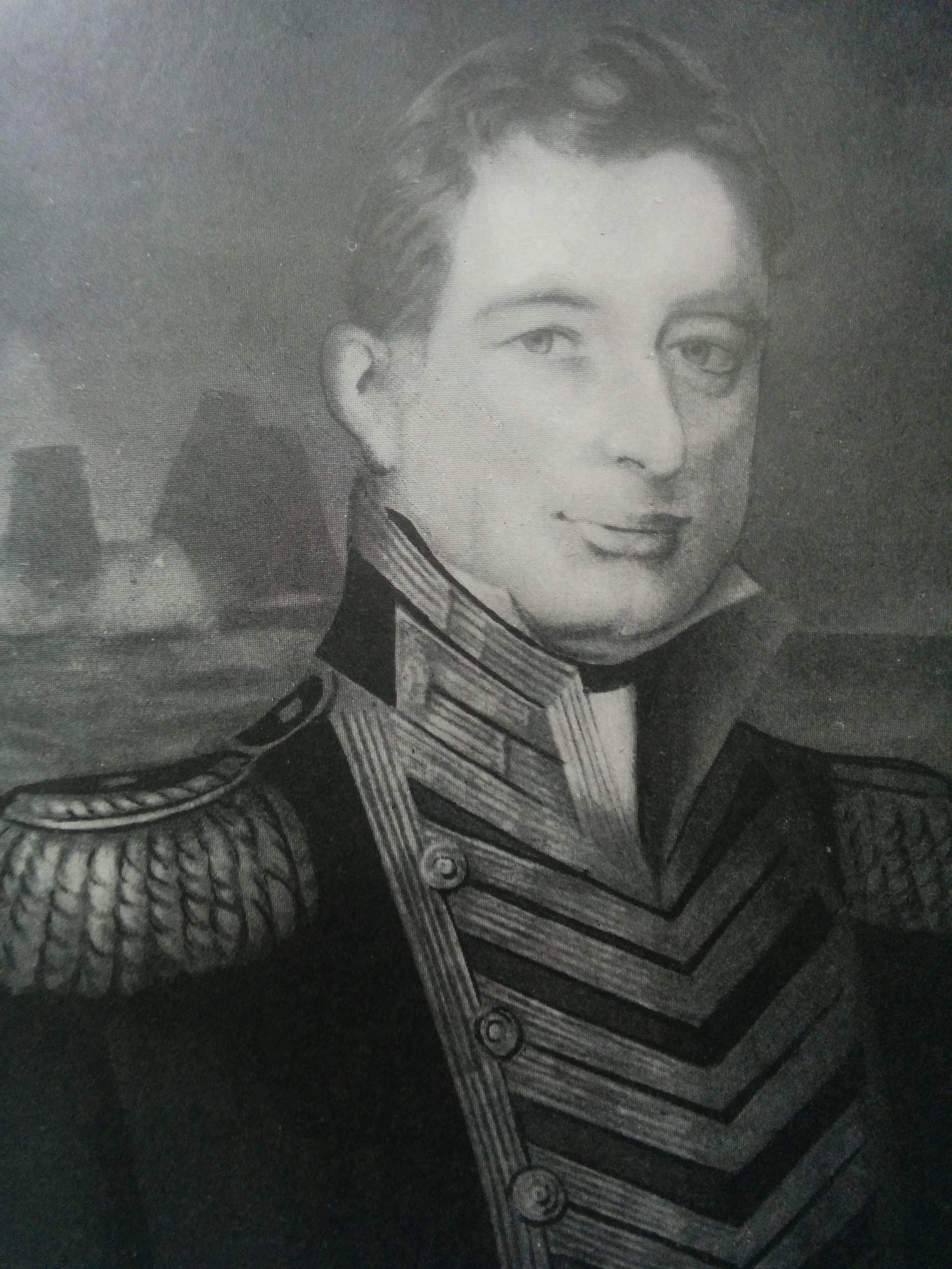 Retrato del Almirante Guillermo Brown (1777-1857).