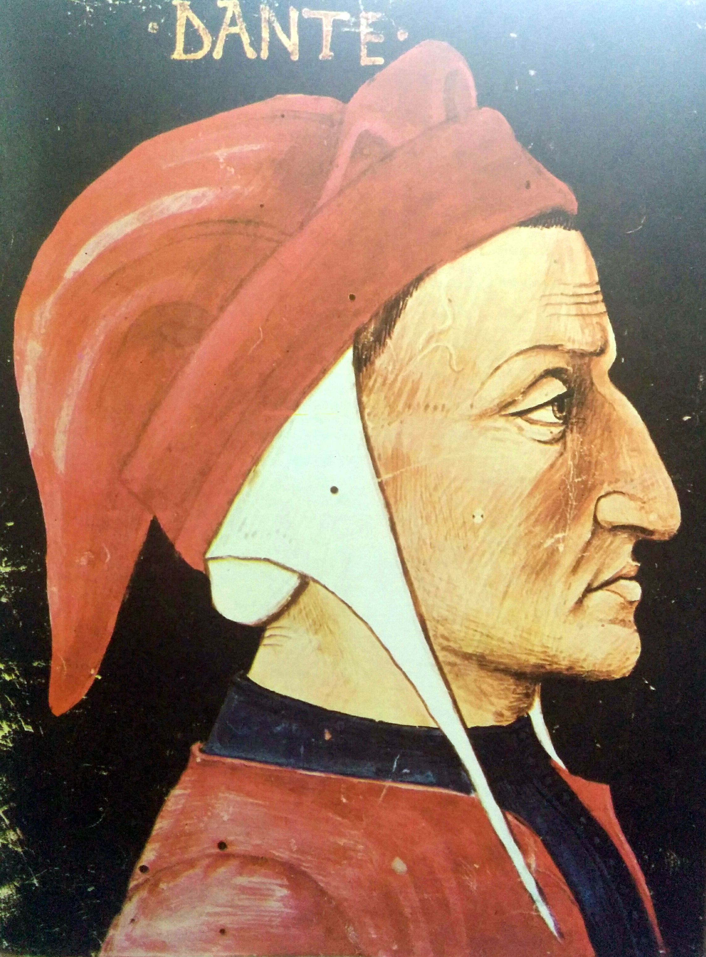 El poeta italiano, Dante Alighieri (1265-1321).