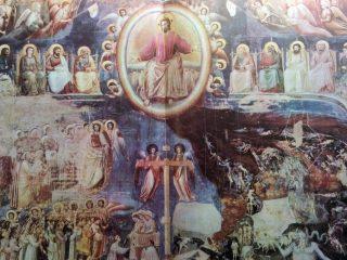"""""""El Juicio Final"""", famosa obra pictórica del artista plástico Italiano Giotto."""