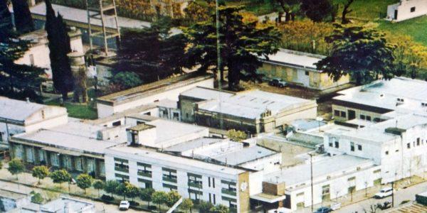 Vista panorámica del Hospital.