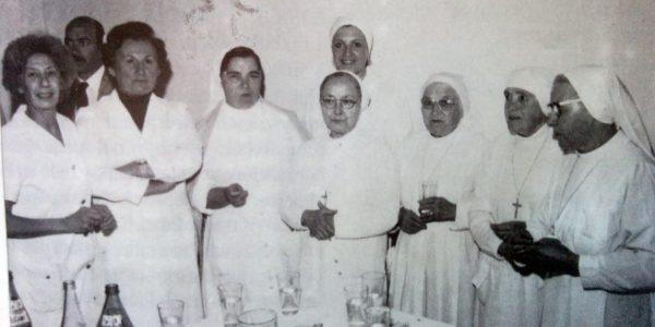 Las religiosas de la congregación «Hijas de San José», que se desempeñaron en el Hospital, desde 1928 hasta 1996.