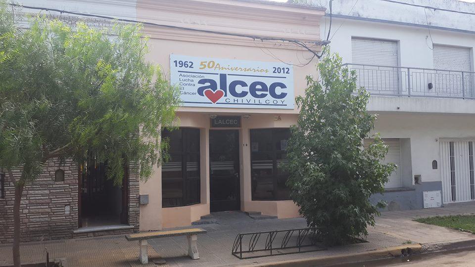 Cede institucional de ALCEC Chivilcoy, en la calle Alvear Nº 138.