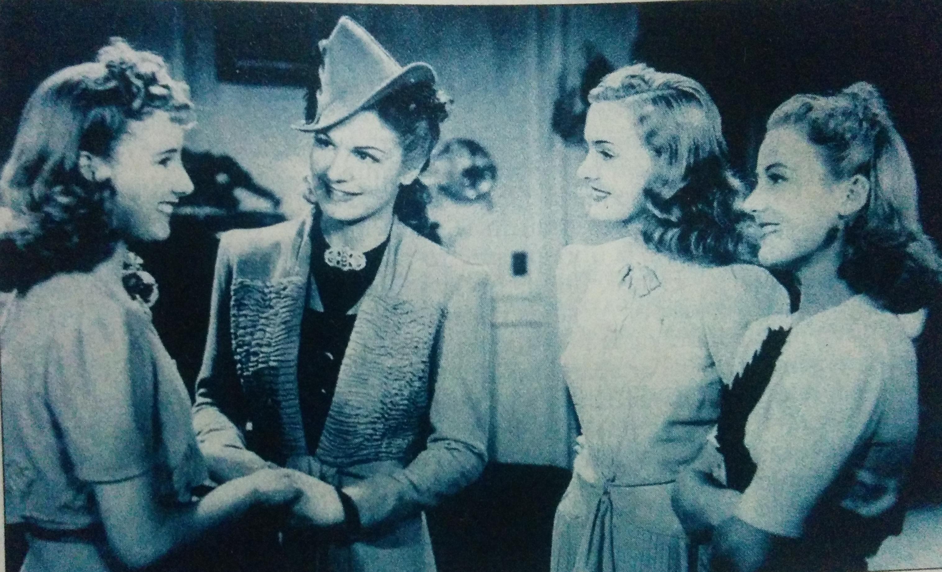 """Secuencia de la película """"Los martes, orquídeas..."""", de 1941"""