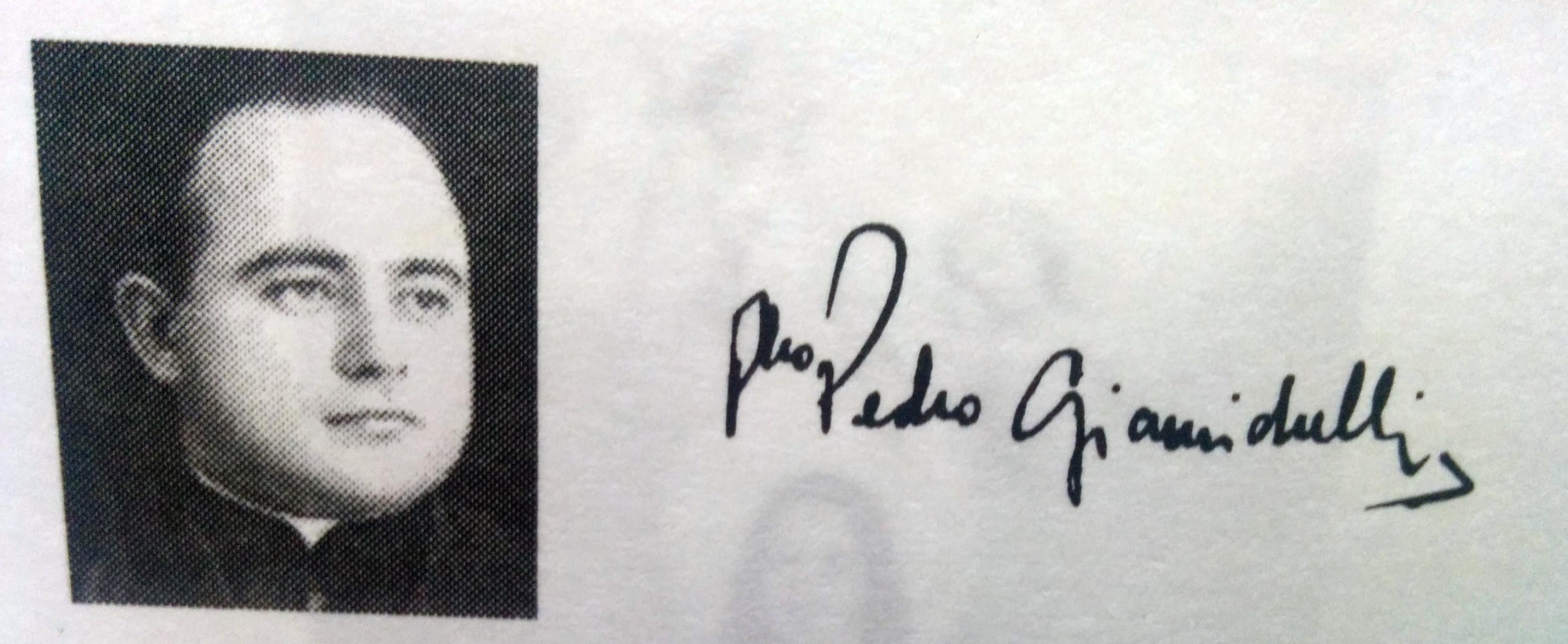 Presbítero Pedro Giamichelli (1913-1999).