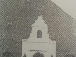 Iglesia San José Obrero de Moquehuá, declarada Parroquia el 1 de agosto 1954. El padre Giamichelli, asumió como párroco, el 8 de agosto.