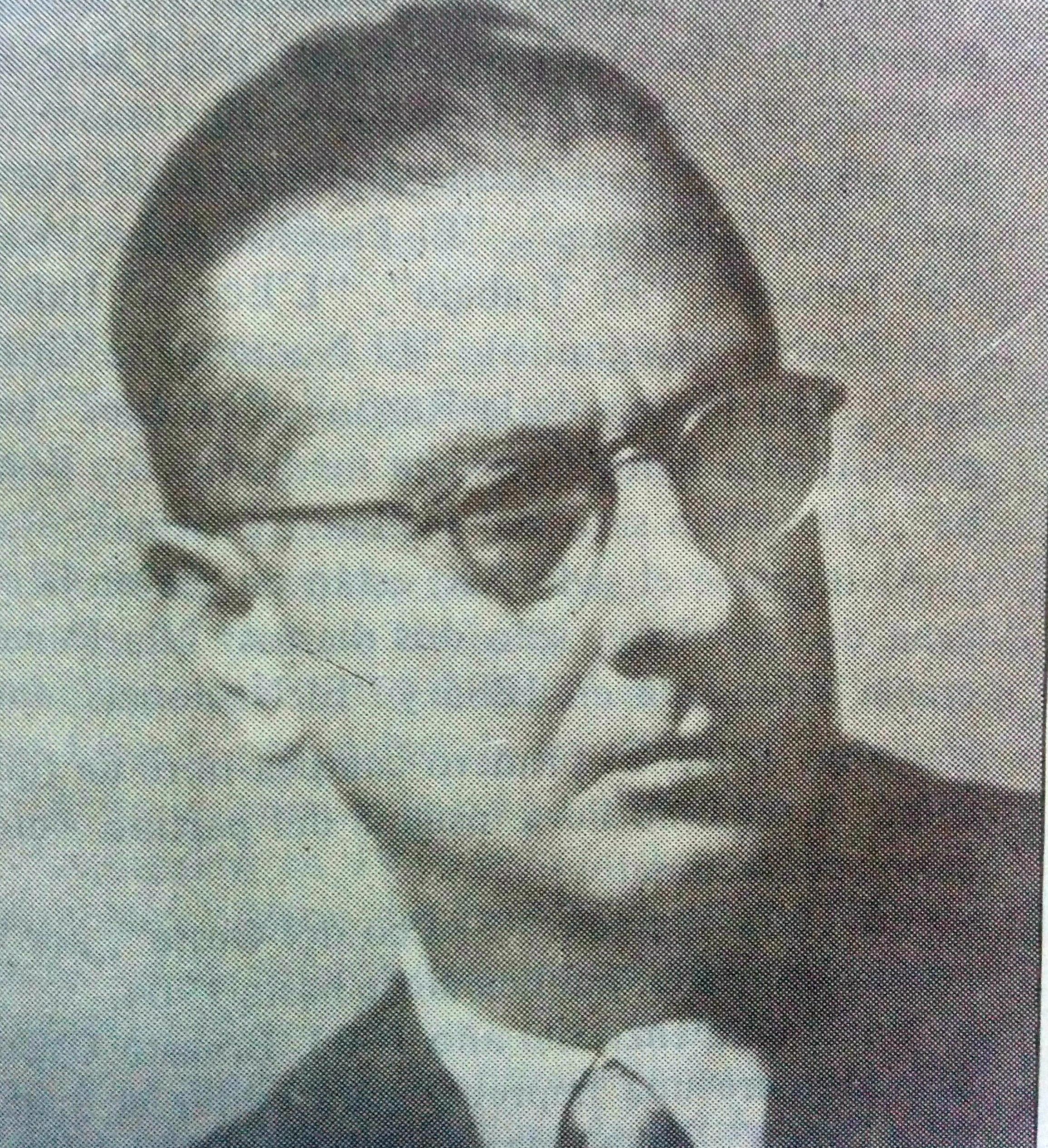 Profesor Pascual Antonio Grisolía (1904-1983), fundador, ex director y gran propulsor y animador, del Conservatorio de Música.