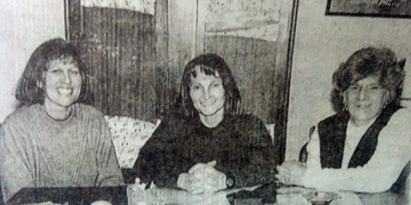 Directivos del Conservatorio de Música, en 1995.