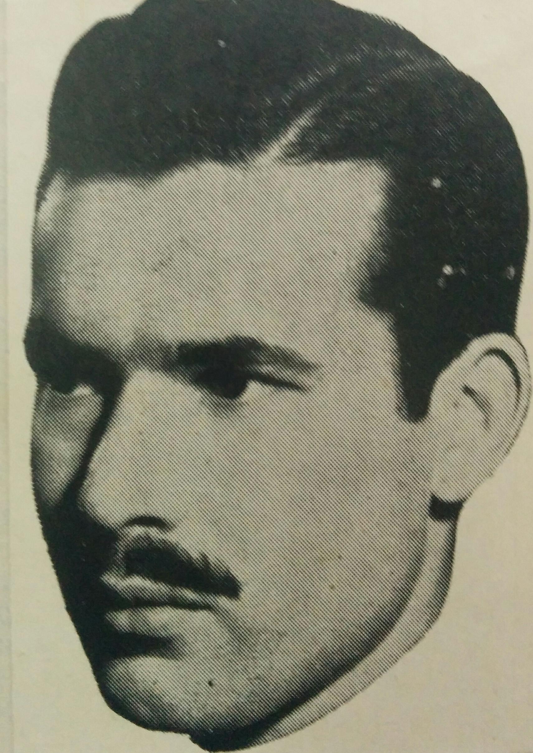 El escritor, poeta periodista y maestro normal, Diego Bernabé Rositto (1919-1991).