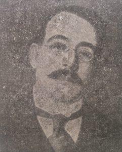 El gran poeta, escritor, historiador y humanista, Leopoldo Lugones, nacido el 13 junio de 1874. Se suicidó, el 18 de febrero de 1938.