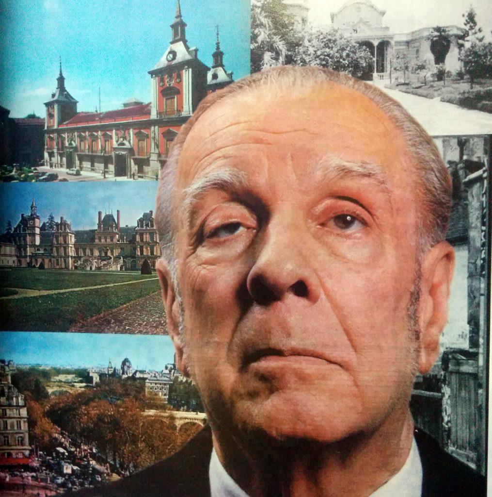 El insigne escritor y poeta argentino, Jorge Luis Borges, nacido en Buenos Aires, el 24 de agosto de 1899, y fallecido en Ginebra (Suiza), el 14 de junio de 1986.