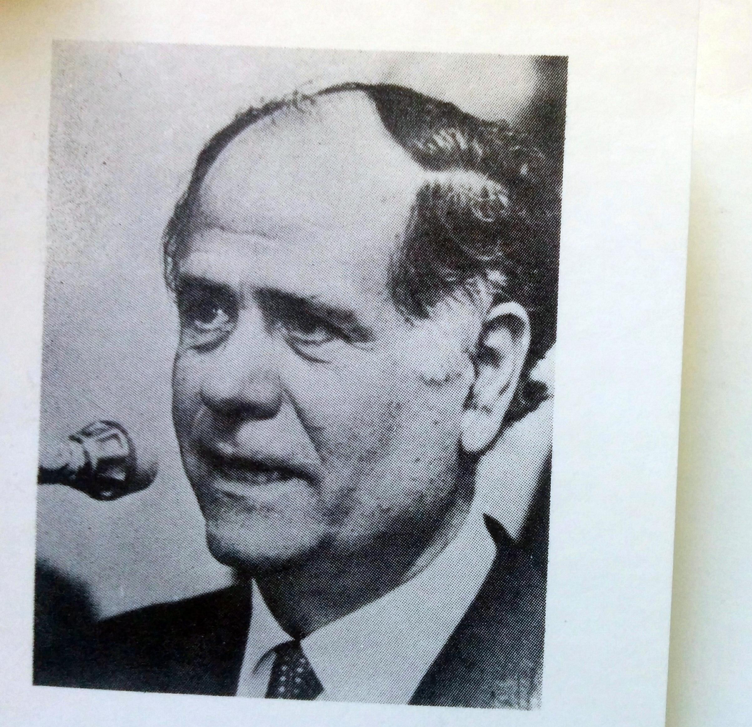 El licenciado Nicolás Antonio Cócaro (1926-1994).