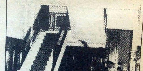Imagen interior del Banco Nación.