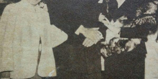 Julio Molina Cabral, en la década de 1950.
