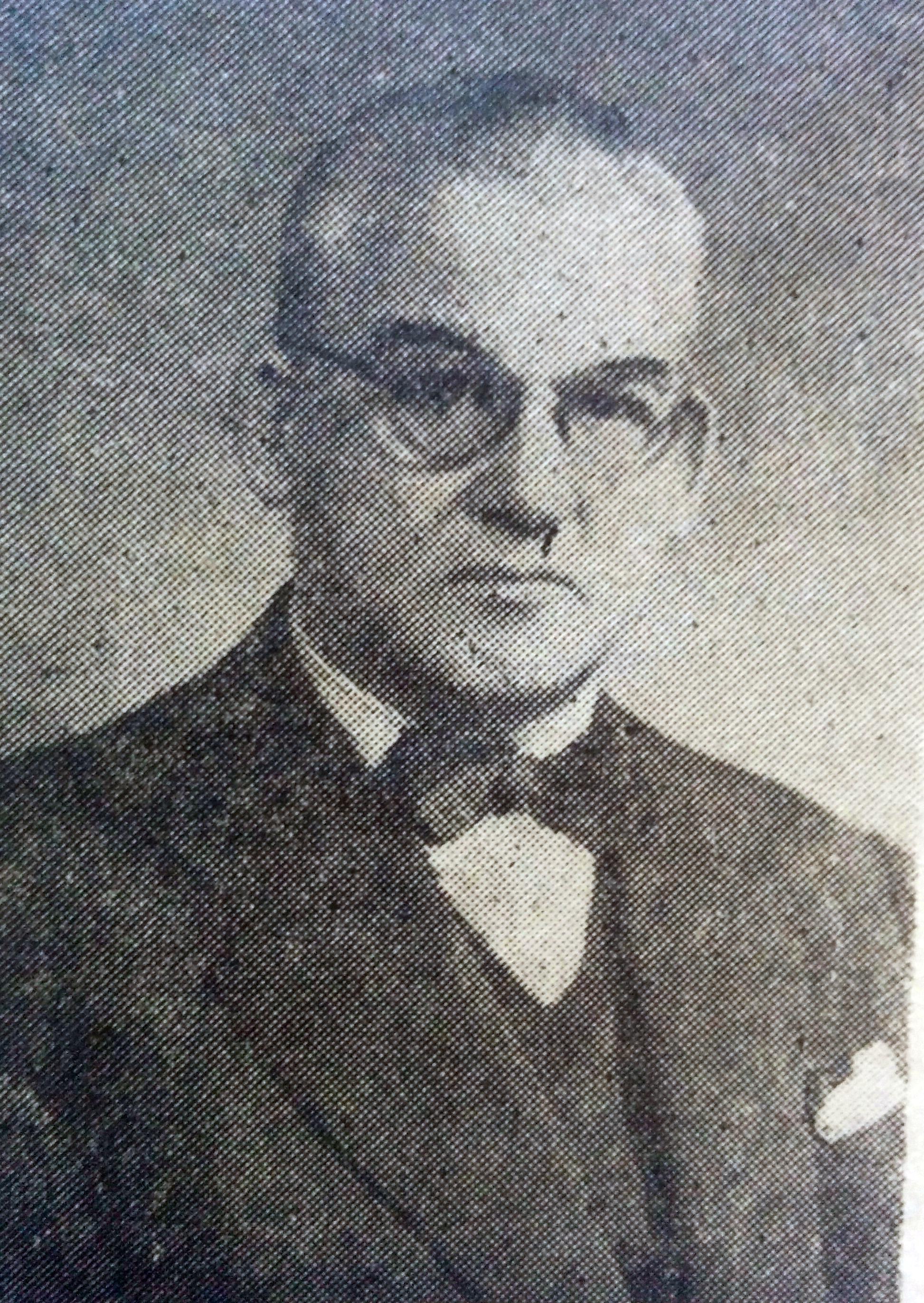 Profesor Juan Manuel Cotta (1887-1964).