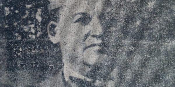 Fotografía juvenil del Prof. Juan Manuel Cotta.