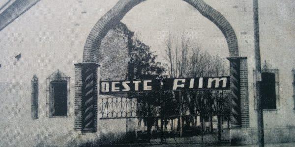 El Prado Español, donde Ignacio Tankel, instaló el estudio cinematográfico «Oeste Film».