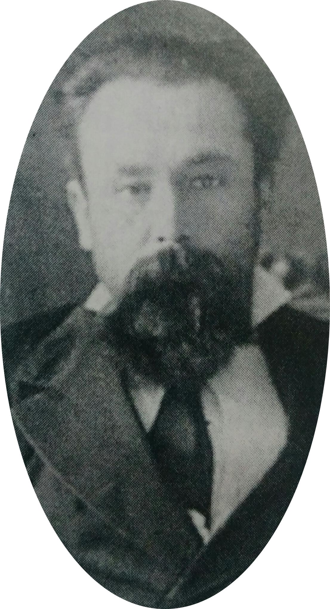 Don Saturnino López, el primer intendente municipal de Chivilcoy, electo el 30 de junio de 1886, por Honorable Concejo Deliberante.