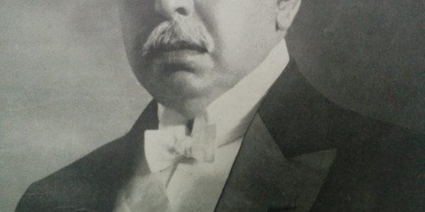 Dr. Victorino de la Plaza (1840-1919), presidente de la Nación, durante los actos conmemorativos del Centenario de la independencia, el 9 de Julio de 1916. Había asumido, la primera magistratura del país, el 9 de agosto de 1914, al producirce el fallecimiento del Dr. Roque Saénz Peña.