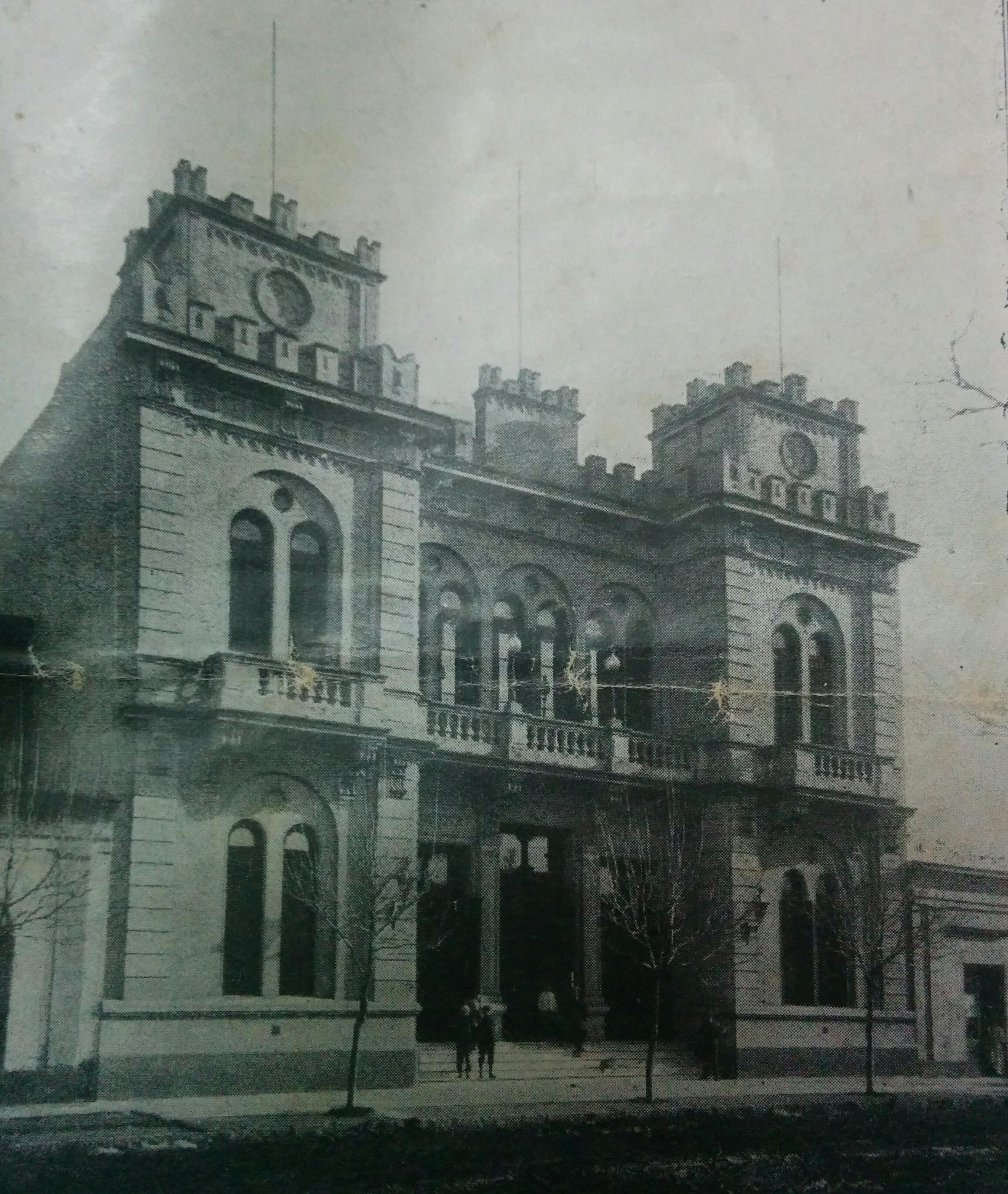 Sede Institucional de la Sociedad Operaria Italiana, fundada el 7 de julio de 1867.