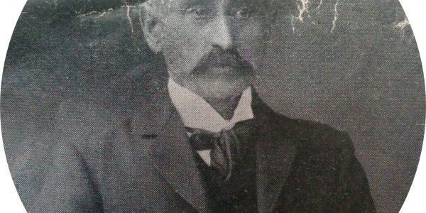 Don Marcos Barbieri, presidente de la Asociación «Italia», en 1910.