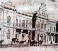 El Palacio Municipal, en 1905.
