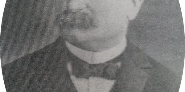 Don Miguel Elósegui, quien dirigió los trabajos de construcción del Teatro Español.